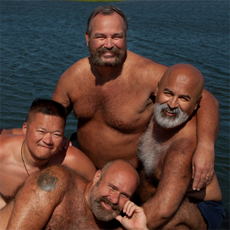 Celebrating big hairy men