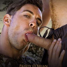 "Paddy O'Brian finally sucks cock in Men.com's ""Gay of Thrones"""