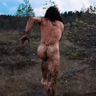 Because naked mud wrestling in Finland is a thing