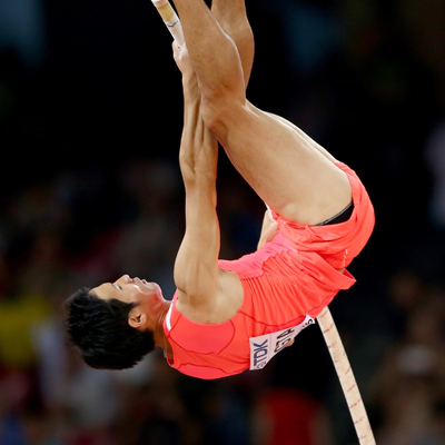 Athlete's penis poses problem in poll vaulting