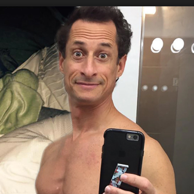 Anthony Weiner caught with his pants down ... again