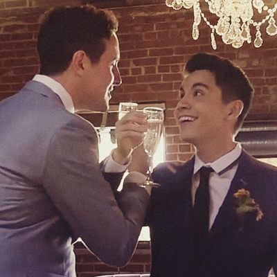 Sam Tsui and Casey Breves get married for real in new music video