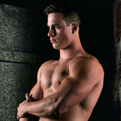 Model Nick Sandell will make you cream your jeans