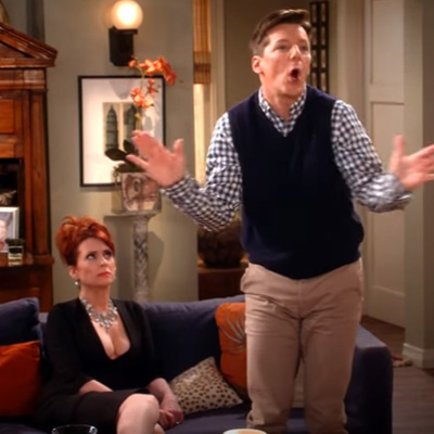 """Will & Grace"" are back in time to take on Trump"