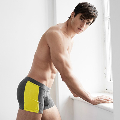 Former math prof Pietro Boselli finally shows off his assets