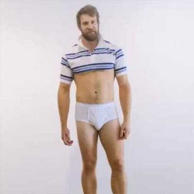 Colby Keller's stained undies up for auction