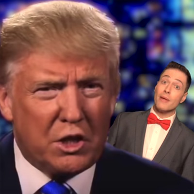 "Randy Rainbow has advice for Trump and his ""pussy"" problem"