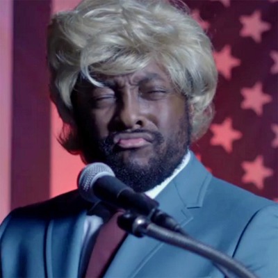 will.i.am channels his inner McDonald T. Rump