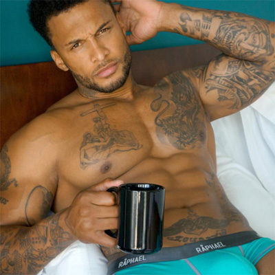 David McIntosh pic too hot for Instragram