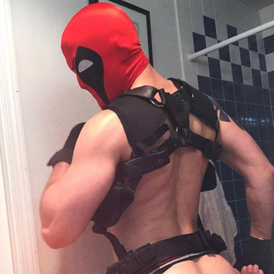 This is no trick! Check out these sexy gay porn stars in costumes.
